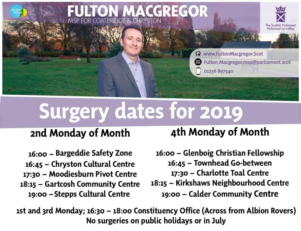 2019 surgeries
