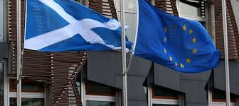 scotland eu flags