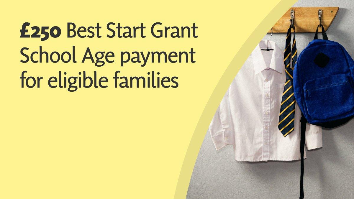 best start - school grant